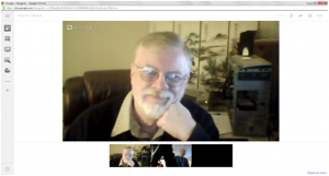 Screenshot of Jim Keenan in a Google Hangout