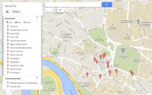 Harvard Square Map